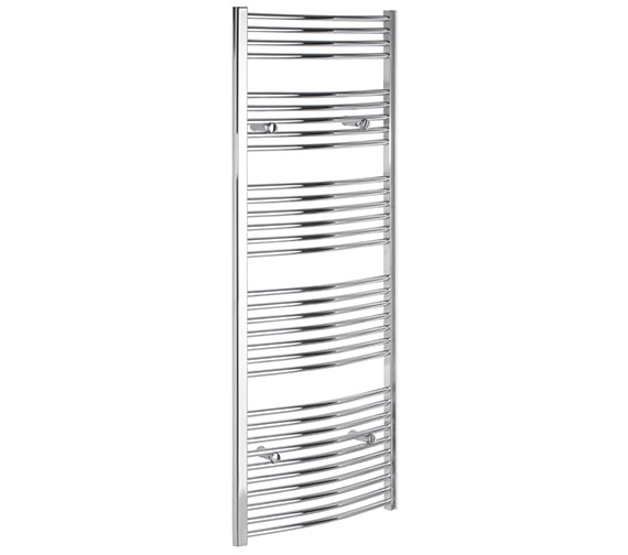 Tivolis Curved 750 x 1600mm Chrome Towel Rail - CURCR75160