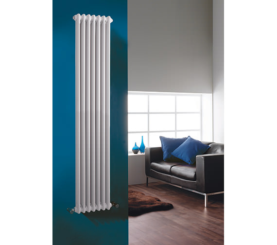 Additional image of Premier Colosseum Triple Column 291mm Wide Radiator