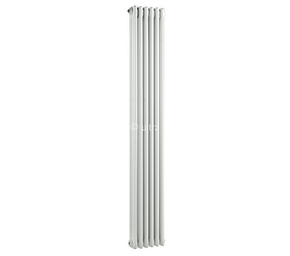 Ultra Colosseum Triple Column 291 x 1800mm White Radiator - HX311