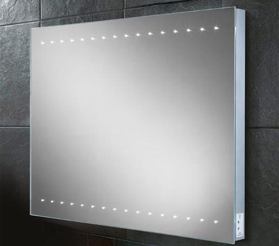 HIB Epic Steam Free LED Illuminated Mirror 800 x 600mm - 77460000