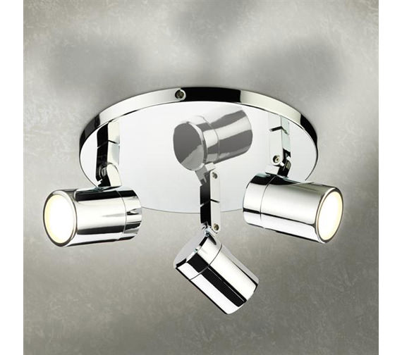 HIB Trilogy Three Multi-Angled LED Spotlights - 6150