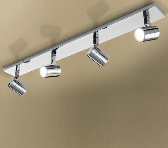 HIB Quartet Four Multi-Angled LED Spotlights - 6140