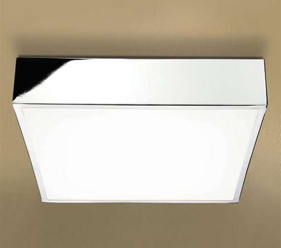 HIB Inertia LED Illuminated Square Ceiling Light - 0680
