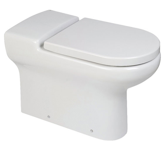 RAK Compact Extended Rimless Back-To-Wall WC Pan 700 Or 750mm