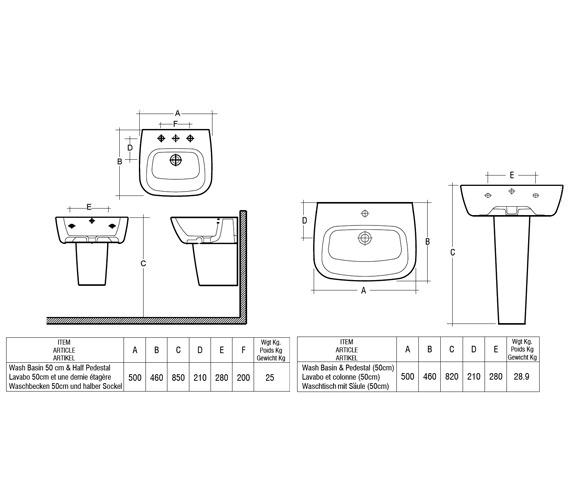 Technical drawing QS-V10044 / ELEN50BAS1