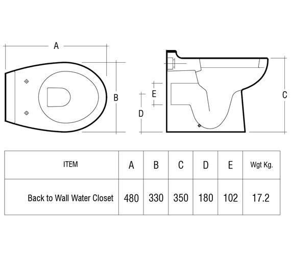 Technical drawing QS-V10052 / JUNWCPAN