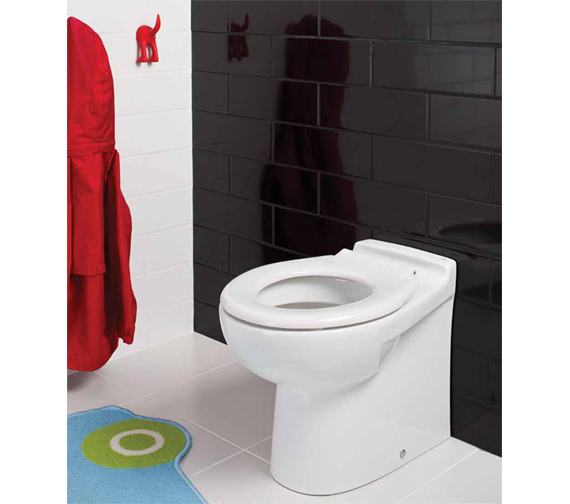 RAK Junior Back-To-Wall WC Pan With Ring Seat 480mm