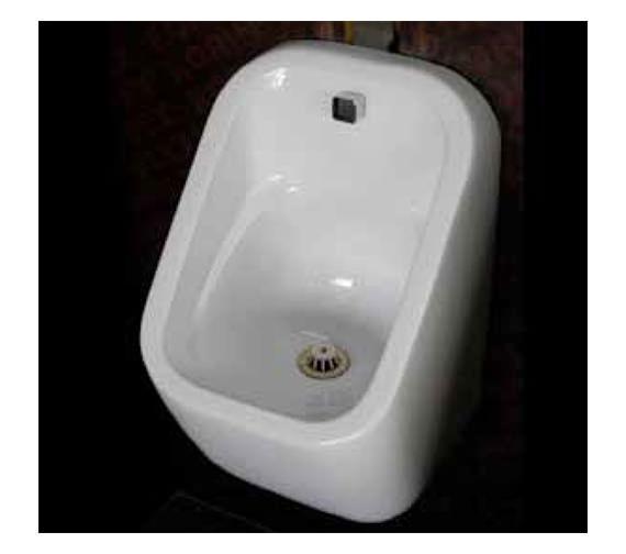 RAK Series 600 310 x 300 x 550mm Urinal Bowl With Brackets