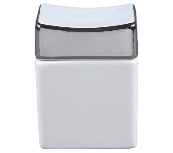 RAK Opulence His Porcelain Vanity Pot Alpine White - HSSCWH
