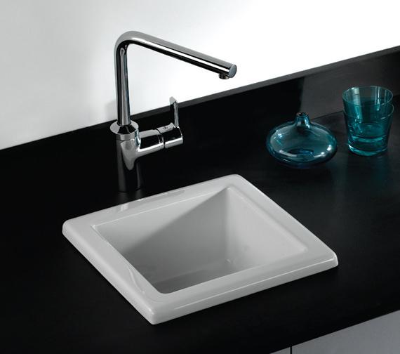 RAK Gourmet 330 x 330 x 180mm Laboratory Sink 2 - LABSINK2