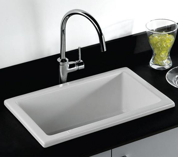 RAK Gourmet 585 x 380 x 230mm Laboratory Sink 3 - LABSINK3