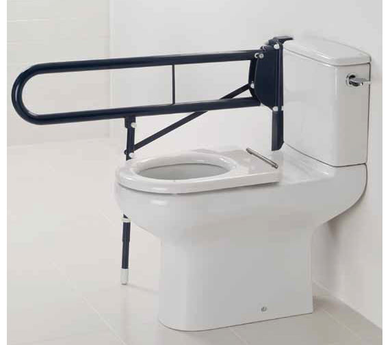 RAK Compact Extended Rimless Close Coupled WC With Cistern 750mm
