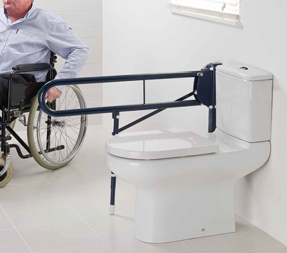 RAK Compact Extended Rimless Close Coupled WC With Cistern And Seat 750mm
