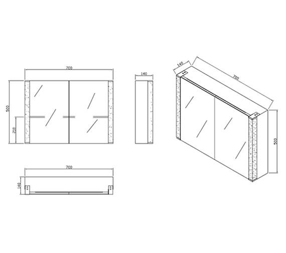 Technical drawing QS-V10095 / RAKRIMKS029
