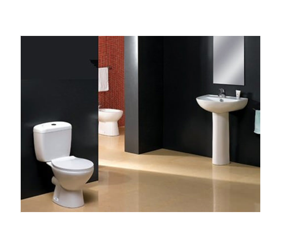 Aqva Milan Washroom 4 Piece Suite - AQVA-LMK839+MG309