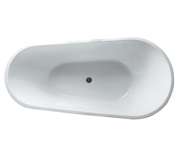 Additional image of RAK Merida Easyflow Acrylic Free-Standing Bath 1700 x 820mm