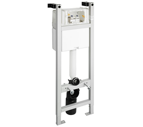 Ideal Standard In Wall 1100mm WC Frame With Cistern And Mechanical Front Operation