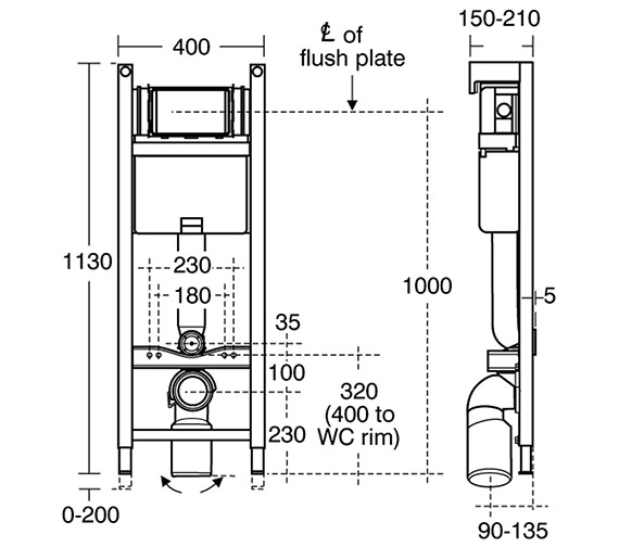 Technical drawing QS-V10150 / E932467