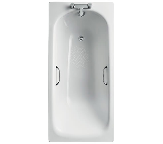 Ideal Standard Simplicity Steel 1500 X 700mm Bathtub With Handgrips