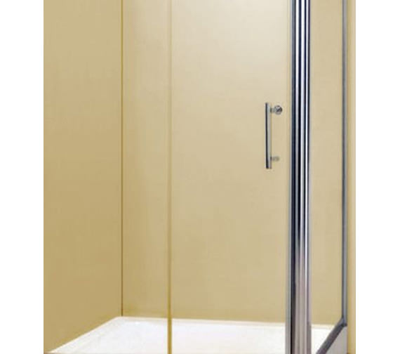 Alternate image of Aqva QX Chrome 1200 x 900mm Slider Shower Door