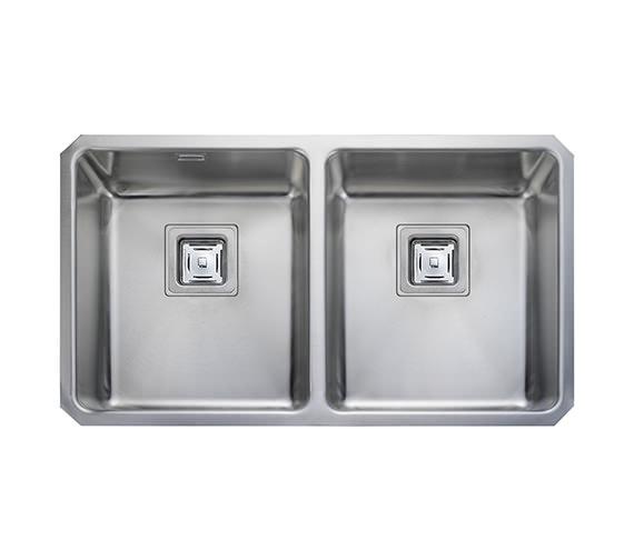Rangemaster Atlantic Quad 2.0 Bowl Stainless Steel Undermount Kitchen Sink