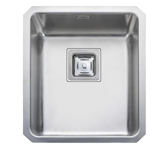 Rangemaster Atlantic Quad QUB34 Stainless Steel Undermount Kitchen Bowl