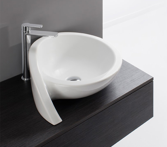 Bauhaus Gallery Surf 520mm Countertop Basin Without