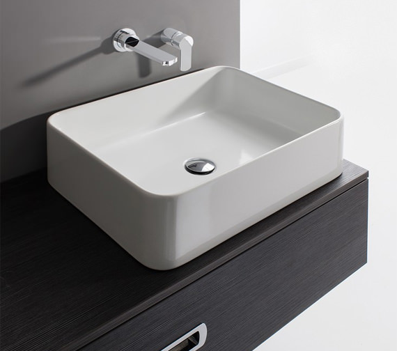 Bauhaus Gallery Santa Fe 550mm Countertop Basin Without Overflow