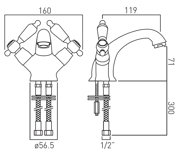 Technical drawing QS-V12041 / KEN-200/CD-A/G