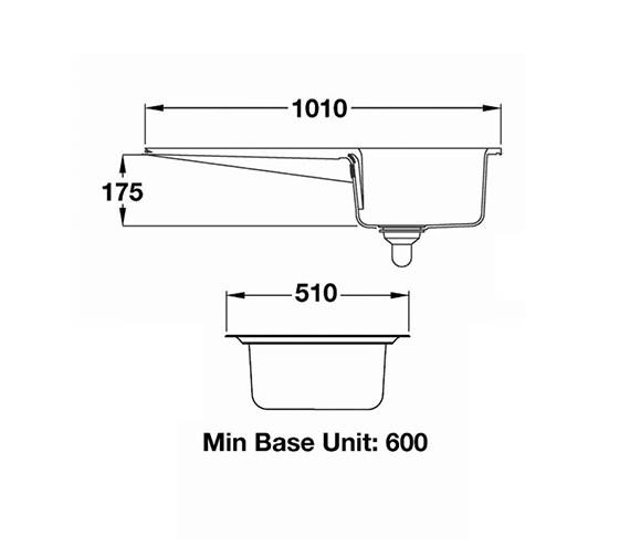 Technical drawing QS-V12147 / CNV1BL/