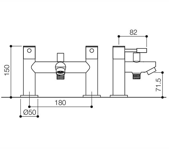 Technical drawing QS-V12219 / BEO-1859