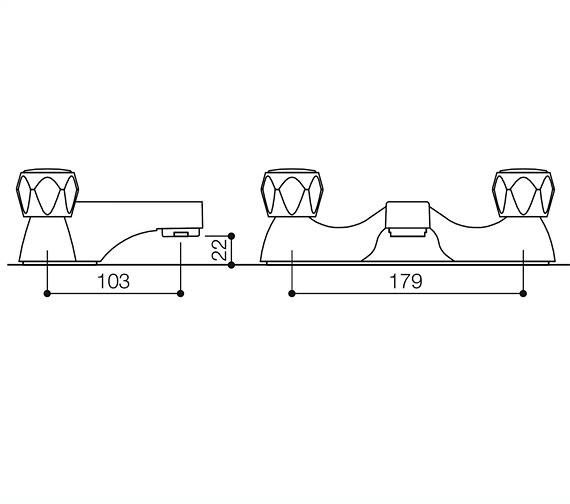 Technical drawing QS-V12222 / BEO-1865