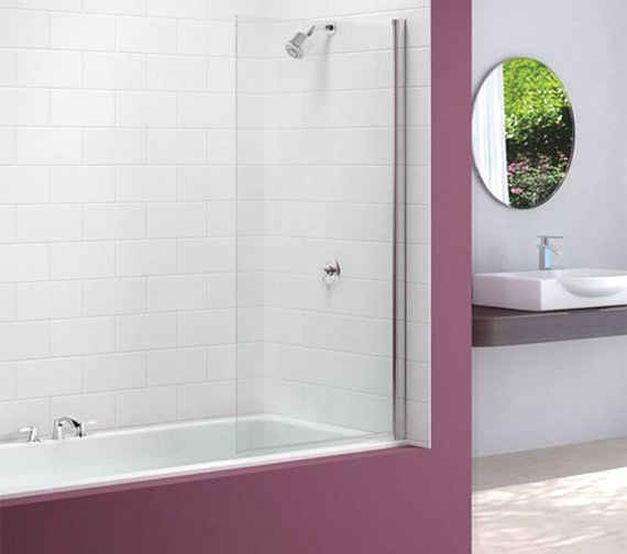 Merlyn Ionic Single Square Bath Screen 800 x 1500mm - MB2