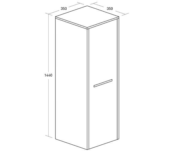Technical drawing QS-V35006 / ES3514FEB