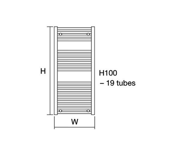 Technical drawing QS-V13098 / Metro 50/100