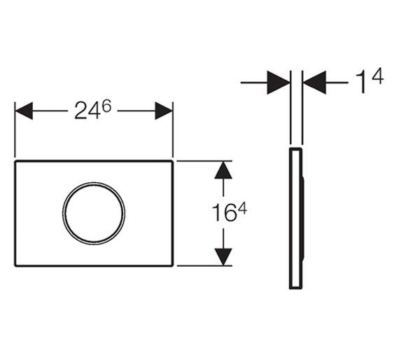 Technical drawing QS-V14004 / 115.908.KH.1