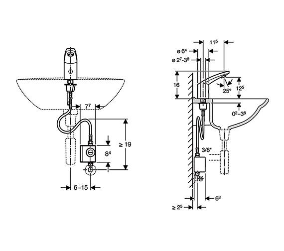 Technical drawing QS-V14029 / 116.335.21.1