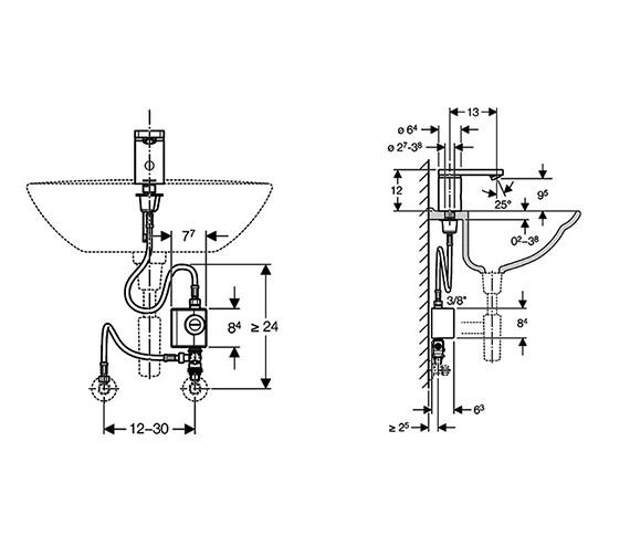 Technical drawing QS-V14032 / 116.366.21.1