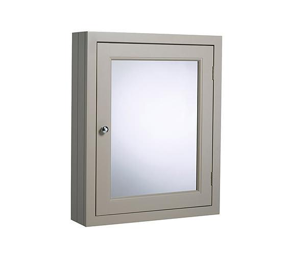 Roper Rhodes Hampton 565 x 700mm Mirror Cabinet Mocha