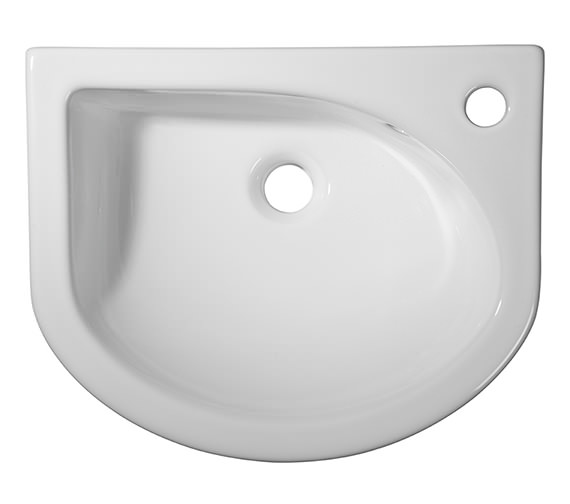 Roper Rhodes Minerva Semi Countertop Basin 460 x 370mm
