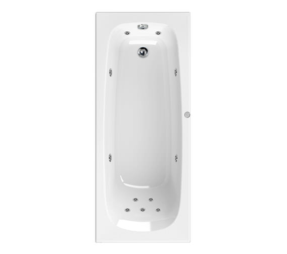 Aquaestil Mercury 1600 x 700mm 11 Jets Whirlpool Bath