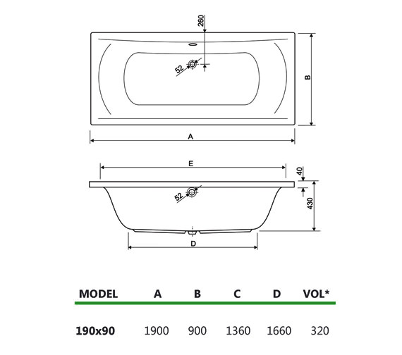 Technical drawing QS-V14206 / 200ARE1990AQMAXCWS16
