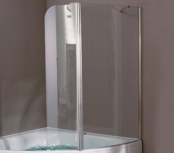 Aquaestil Gemma 1400mm Left Handed Shower Screen - 154GEMMA1400LH