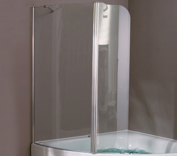 Aquaestil Gemma 1400mm Right Handed Shower Screen - 154GEMMA1400RH