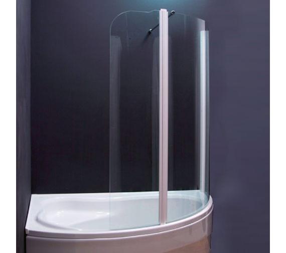 Aquaestil Olbia 1600mm Left Handed Shower Screen - 154OLBIALH