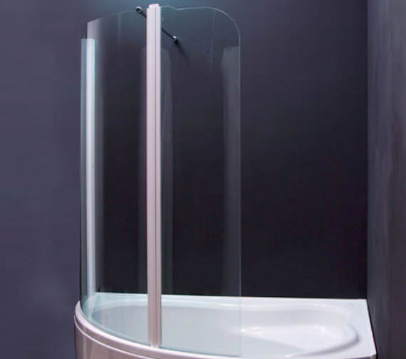 Aquaestil Olbia 1600mm Right Handed Shower Screen - 154OLBIARH