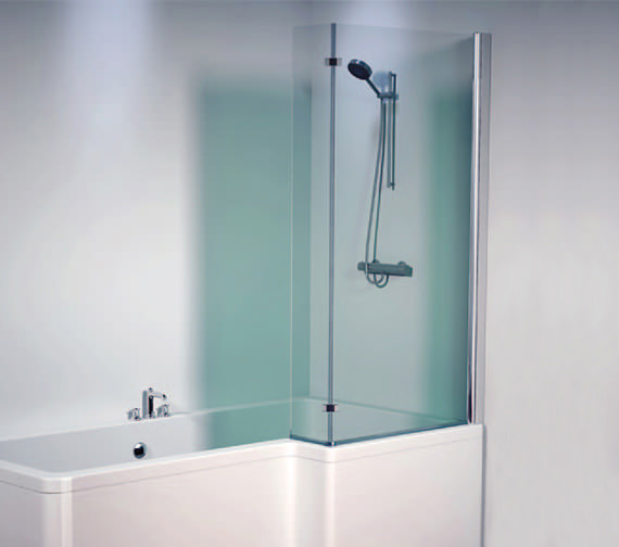 Aquaestil Thames 1500mm Right Shower Screen - 154THAMESSCRH