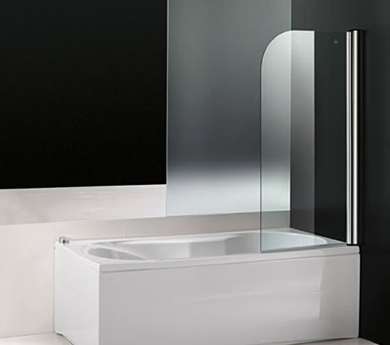 Aquaestil Titan I 1400mm Single Folding Shower Screen - 154TITAN1