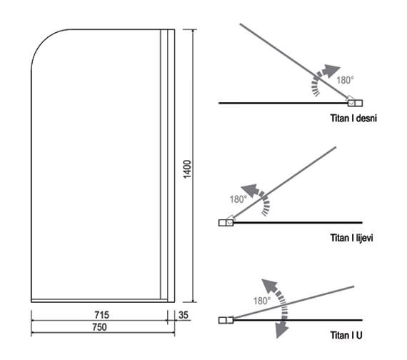 Technical drawing QS-V14272 / 154TITAN1
