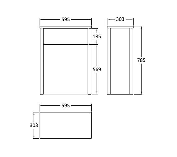 Technical drawing QS-V14317 / NLV543